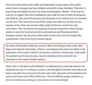 Bill Fletcher, W.E.B. Dubois e o mundo hoje 3