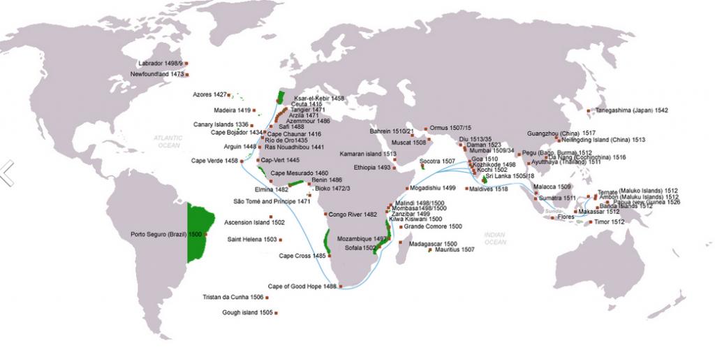 Principais desenvolvimentos de 1522 (e notas sobre o Império Português) 3